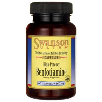 Swanson High-Potency Benfotiamine 160 mg 60 Caps