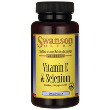 Swanson Vitamin E & Selenium 90 Sgels