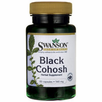 Swanson Black Cohosh 540 mg 60 Caps