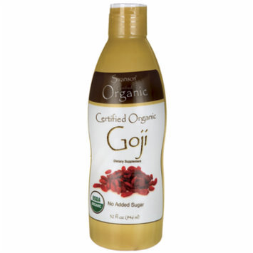 Swanson Certified Organic Goji 32 fl oz (946 ml) Liquid