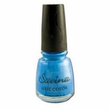 Earthly Delights - Savina Nail Polish, Blue Light S47065, 1 bottle