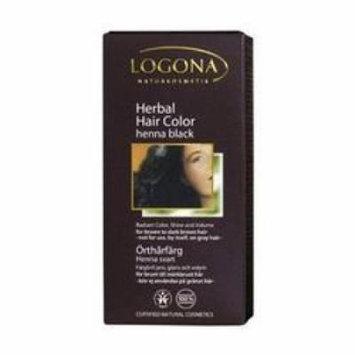 Logona - Hair Color, Henna Black, 3.5 oz