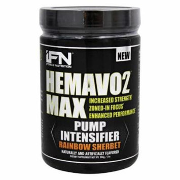 iForce Nutrition - HemaVo2 Max Pump Intensifier Rainbow Sherbet - 200 Grams