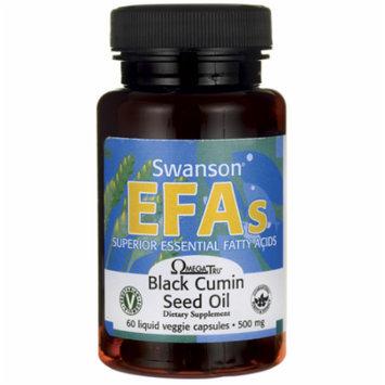 Swanson Black Cumin Seed Oil 500 mg 60 Liq Vegcap