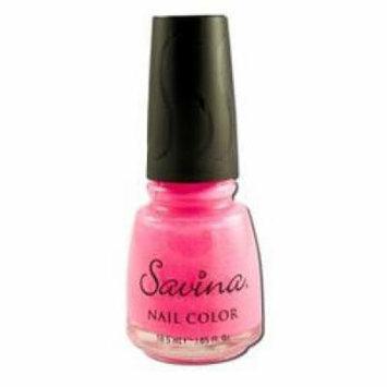 Earthly Delights - Savina Nail Polish, Pink Ice S74010, 1 bottle