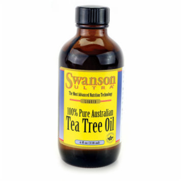 Swanson Tea Tree Oil 4 fl oz (118 ml) Liquid