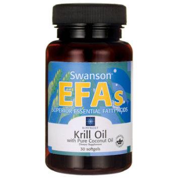 Swanson Rimfrost Krill Oil with Pure Coconut Oil 30 Sgels