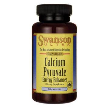 Swanson Calcium Pyruvate Energy Enhancer 60 Caps