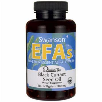 Swanson Black Currant Seed Oil Gla (Omegatru) 180 Sgels