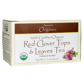 Swanson Red Clover Tops & Leaves Tea 20 Bag(S)