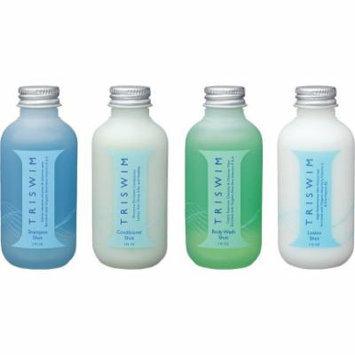 Triswim Aqua Therapy Chlorine-Out Hair & Skin Care Line Shot Set: Four 2oz Bottles