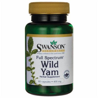 Swanson Full Spectrum Wild Yam 400 mg 60 Caps