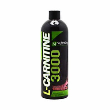 Nutrakey L-Carnitine 3000, Delicious Watermelon, 31 Servings