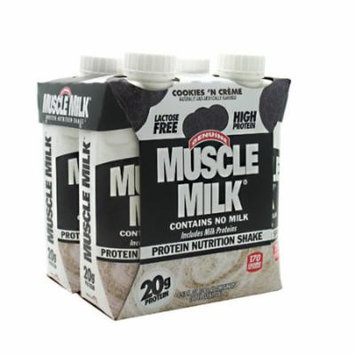 CytoSport Muscle Milk RTD Cookies 'n Cream - 12 - 11 fl oz shakes