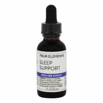 Four Elements Herbals - Fresh Herb Extract Tincture Sleep Support - 1 oz.