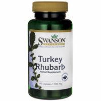 Swanson Turkey Rhubarb 500 mg 100 Caps