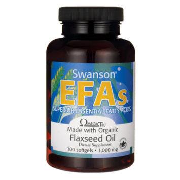 Swanson Flaxseed Oil (Omegatru) 1,000 mg 100 Sgels