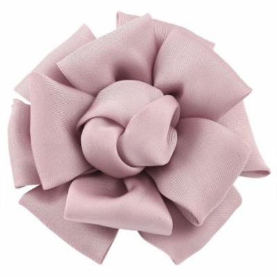 Wedding Prom Light Pink Mini Rose Flower Style Corsage Hair Clip