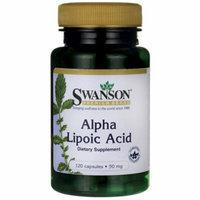 Swanson Alpha Lipoic Acid 50 mg 120 Caps