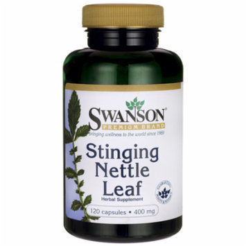 Swanson Stinging Nettle Leaf 400 mg 120 Caps