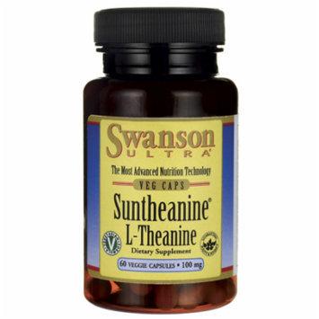 Swanson Suntheanine L-Theanine 100 mg 60 Veg Caps