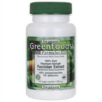 Swanson Fucoidan Brown Seaweed Extract 500 mg 60 Veg Caps
