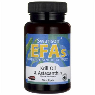 Swanson Krill Oil & Astaxanthin 30 Sgels