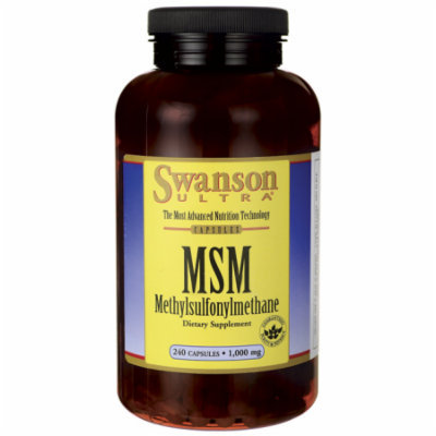 Swanson Msm 1,000 mg 240 Caps