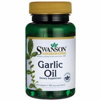 Swanson Garlic Oil Equivalent to 500 mg 250 Sgels