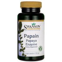 Swanson Papain Papaya Enzyme 100 mg 90 Veg Caps