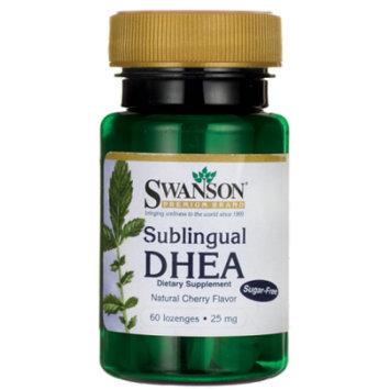 Swanson Sublingual Dhea (Sugar-Free) 25 mg 60 Lozenges