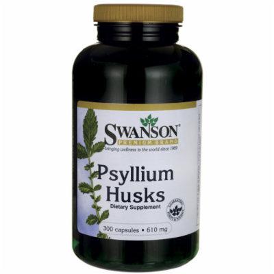 Swanson Psyllium Husks 610 mg 300 Caps