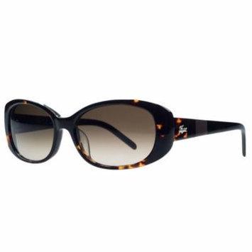 Lacoste L628/S 214 Havana Oval Sunglasses