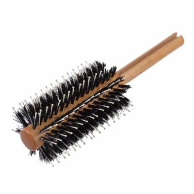 19cm x 6cm Wood Handle Handheld Bristle Pets Brush Cleaning Tool