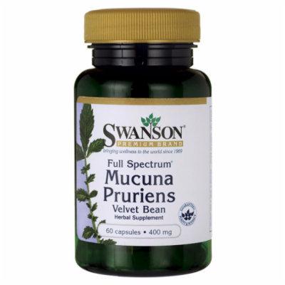 Swanson Full Spectrum Mucuna Pruriens 400 mg 60 Caps