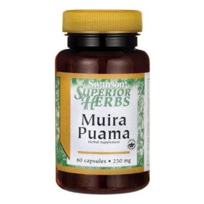 Swanson Muira Puama (10:1) 250 mg 60 Caps