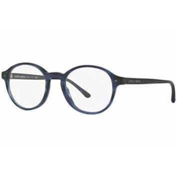 Giorgio Armani - FRAMES OF LIFE AR 7004, Round, acetate, men, STRIPED BLUE(5402), 49/19/145