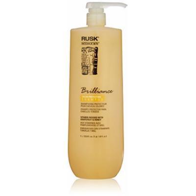 RUSK Sensories Brilliance Grapefruit and Honey Color Protecting Shampoo , 33.8 fl. Oz.