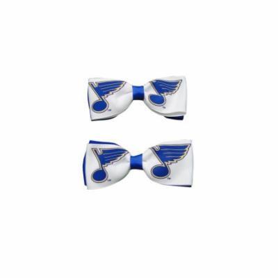 St. Louis Blues Hair Bow Pair