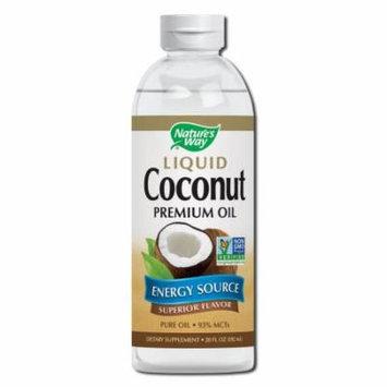 Natures Way - Coconut Oil Liquid 20 oz