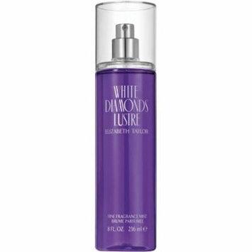Elizabeth Taylor White Diamonds Lustre Fine Fragrance Mist for Women, 8 fl oz