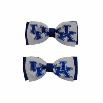 University of Kentucky Hair Bow Pair