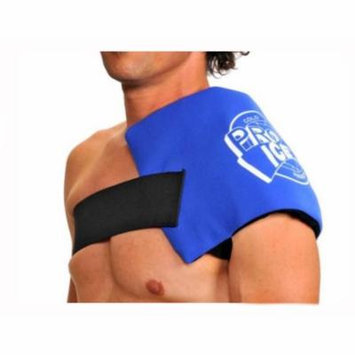Pro Ice Adult Shoulder Cold Therapy Wrap & Compression. Ultimate Relief. PI260