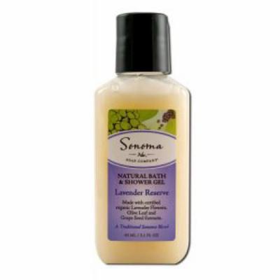 Sonoma Soap - Bath & Shower Gel, Lavender Reserve 2.1 oz