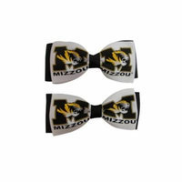 University of Missouri Hair Bow Pair