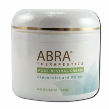 Abra Therapeutics - Foot Cream Revival 4.5 Oz