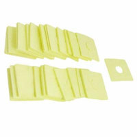 40pcs Solder Iron Cleaning Sponge Replacement 60mm x 60mm x 1.8mm