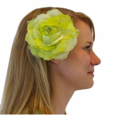 Greatlookz Blooming Beauty Glitter Flower Hair Accessory