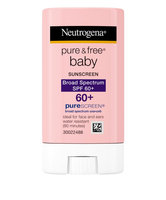 Neutrogena® Pure & Free® Baby Sunscreen Stick Broad Spectrum SPF 60+