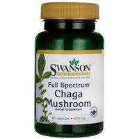 Swanson Full Spectrum Chaga Mushroom 400 mg 60 Caps